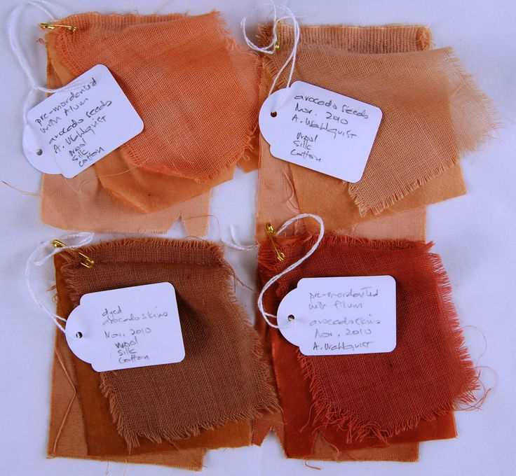 We love to experiment with plant dyes and see what other plant dyers are doing. These samples were by Asa Wahlquist for Embellish magazine.