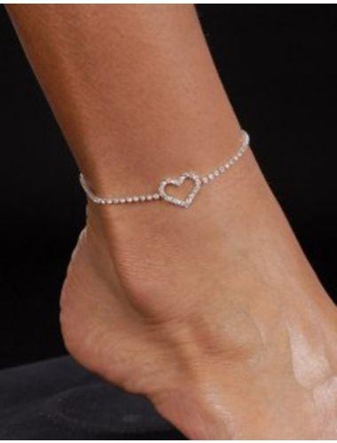 Fashion Heart Anklet   Anklet   Jewelery   StringsAndMe