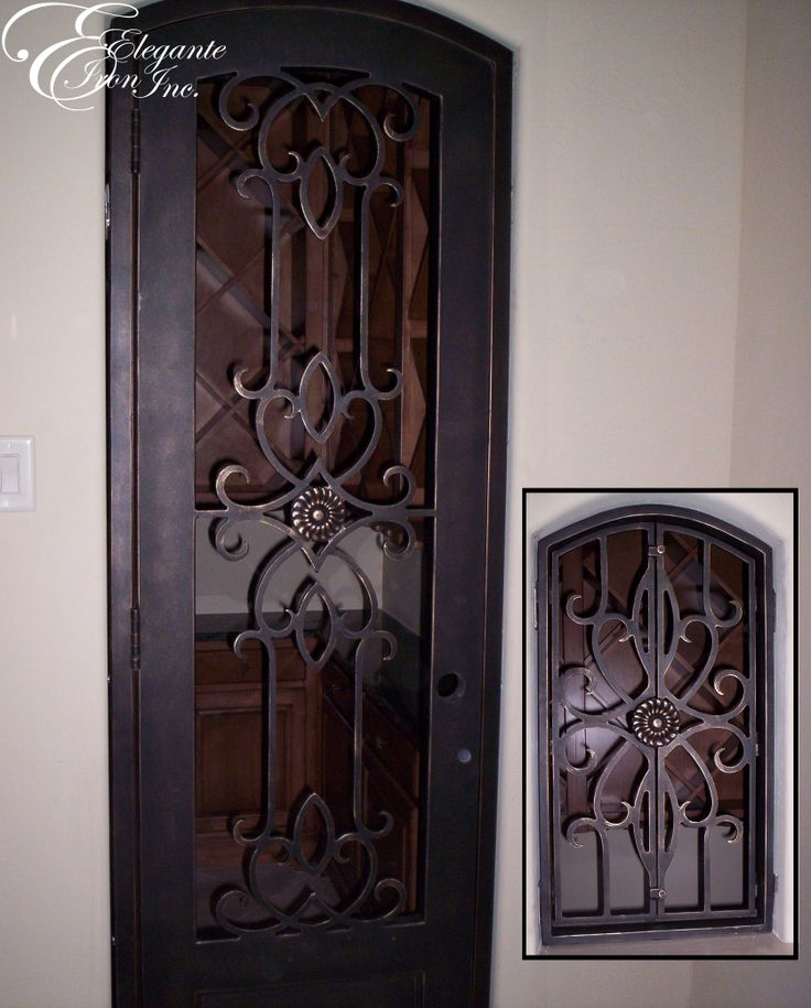 39 best Wine doors and other Elegante Iron interior doors images on Pinterest  Indoor gates