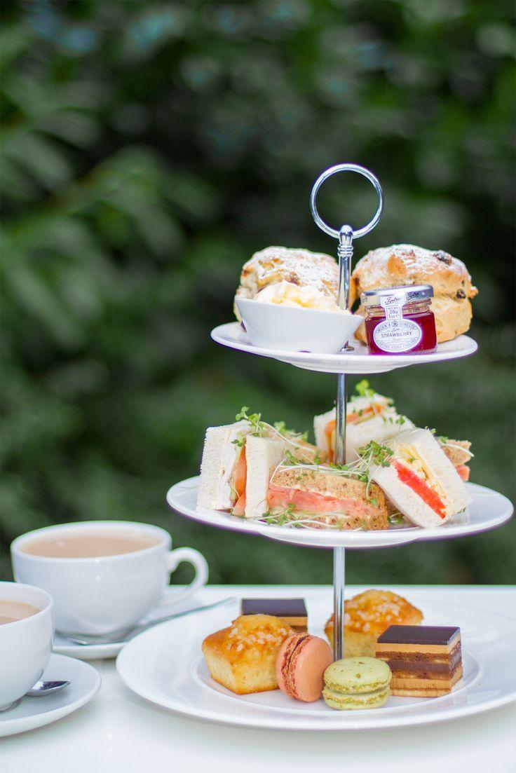 Enjoy a spot of afternoon tea at Café Vitalé and Bar