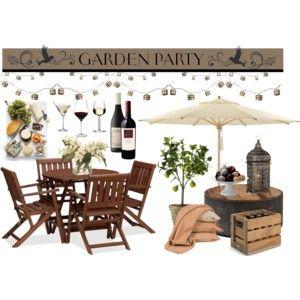 Wine & Cheese Garden Party