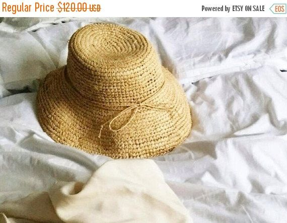 A personal favorite from my Etsy shop https://www.etsy.com/il-en/listing/235655388/on-sale-straw-raffia-hat-straw-hat-for