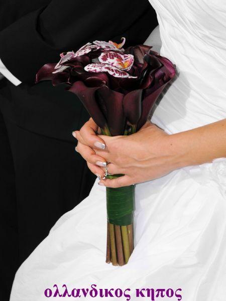 ΝΥΦΙΚΟ ΜΠΟΥΚΕΤΟ ΑΠΟ ΜΩΒ ΚΑΛΕΣ ΚΑΙ ΔΙΧΡΩΜΕΣ ΦΑΛΕΝΟΨΙΣ.Δεξίωση | Στολισμός Γάμου | Στολισμός Εκκλησίας | Διακόσμηση Βάπτισης | Στολισμός Βάπτισης | Γάμος σε Νησί - στην Παραλία.