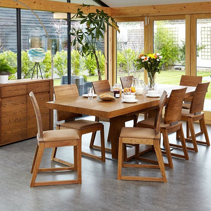 Olten - Extending Dining Table in Oak Finish -  - Dining Table - Baumhaus - Space & Shape - 6