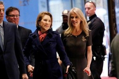 Trump considering Fiorina for director of national intelligence - http://conservativeread.com/trump-considering-fiorina-for-director-of-national-intelligence/
