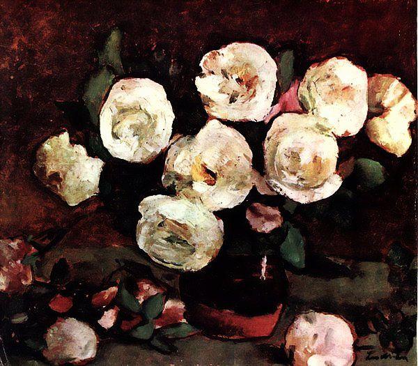 Stefan Luchian (1868-1917) - White Roses