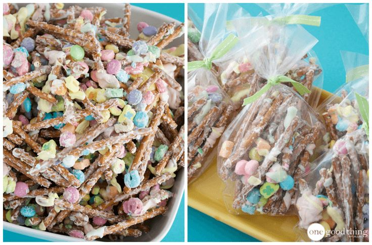 How To Make Lucky Charms Munch For St. Patrick's Day