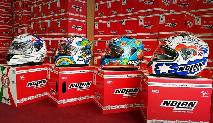 High quality in great designs, these Nolan helmets are definitely must-haves in your daily road protection!!  Nolan continuously stay at the front of the pack through their innovation as well adaptation and invention of new designs.   From open-face to full-face, you'll have a wide selection. Just visit us at Motoworld Philippines and MotoMarket Philippines!
