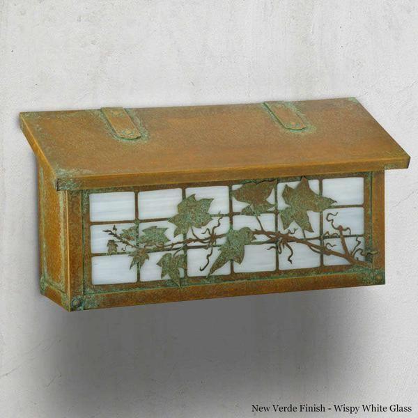 English Ivy Mailbox - Horizontal