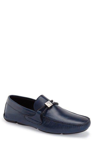 Versace Collection Braided Bit Driving Shoe (Men)