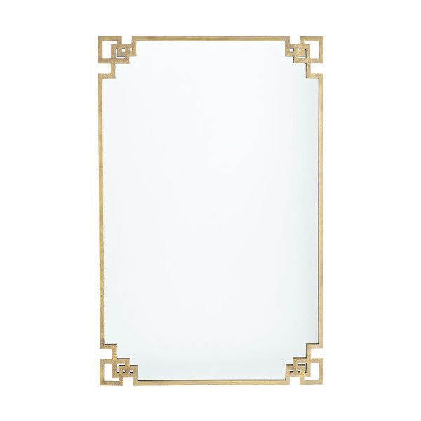 Deco Corners Mirror - Wisteria - Master Bath - 24x38 - Think too small but what about style?