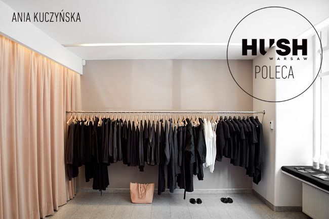 Ania Kuczyńska- fashion place recommended by HUSH Warsaw.