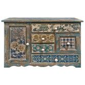 Found it at Wayfair.co.uk - Floral Patchwork Multi Drawer Mini Chest