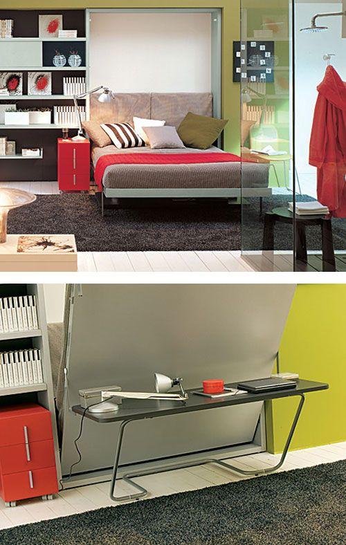 Большая кровать для маленькой квартиры