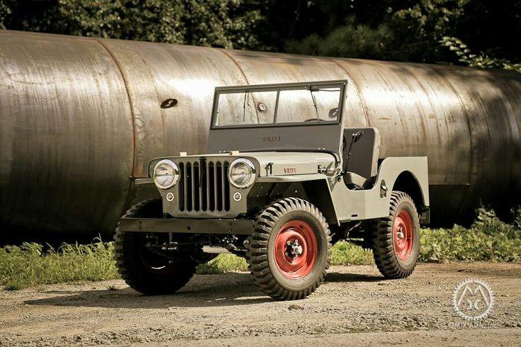 #Jeep #CJ-2A