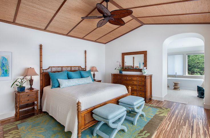 Tropical Bedroom Design in Hawaii