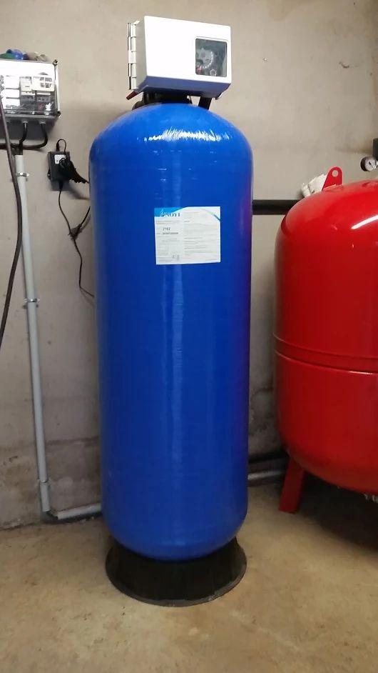 Adoucisseur industriel Fleck 2850 la solution pour un débit de 10 m3/h