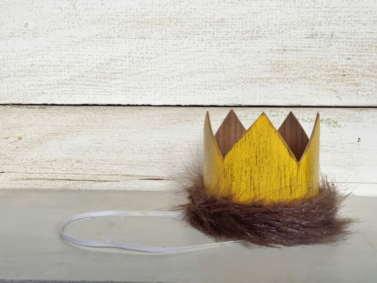 Where The Wild Things Are Birthday Party Crown, Max Crown, Wild Rumpus Party, First Birthday, Wild Things Costume, Wild One, Photo Prop by FetesAndFables on Etsy https://www.etsy.com/listing/271940202/where-the-wild-things-are-birthday-party