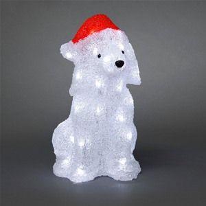 Konstsmide 6182-203 Acrylic LED Christmas Dog