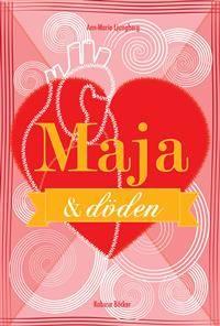 Maja & döden. Maja, som går i 8an, har leukemi och ligger på sjukhus. Hon skriver dagbok om livet på sjukhuset och om livet efter friskförklarandet, om nyfunna vänner och förälskelse.