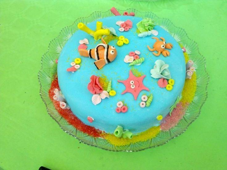 Sea cake #kidscakes