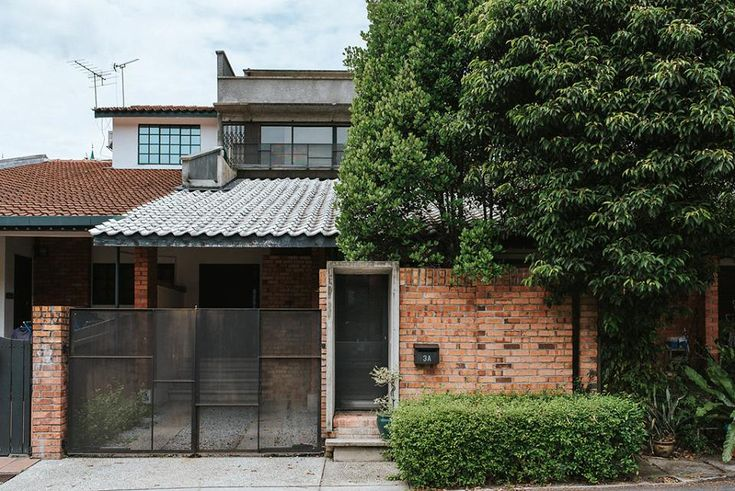 TTDI single storey terrace house redesigned into a modern industrial home
