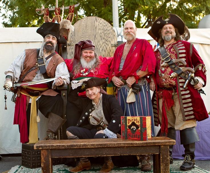 Pirate Santa crew.  www.piratesanta.com