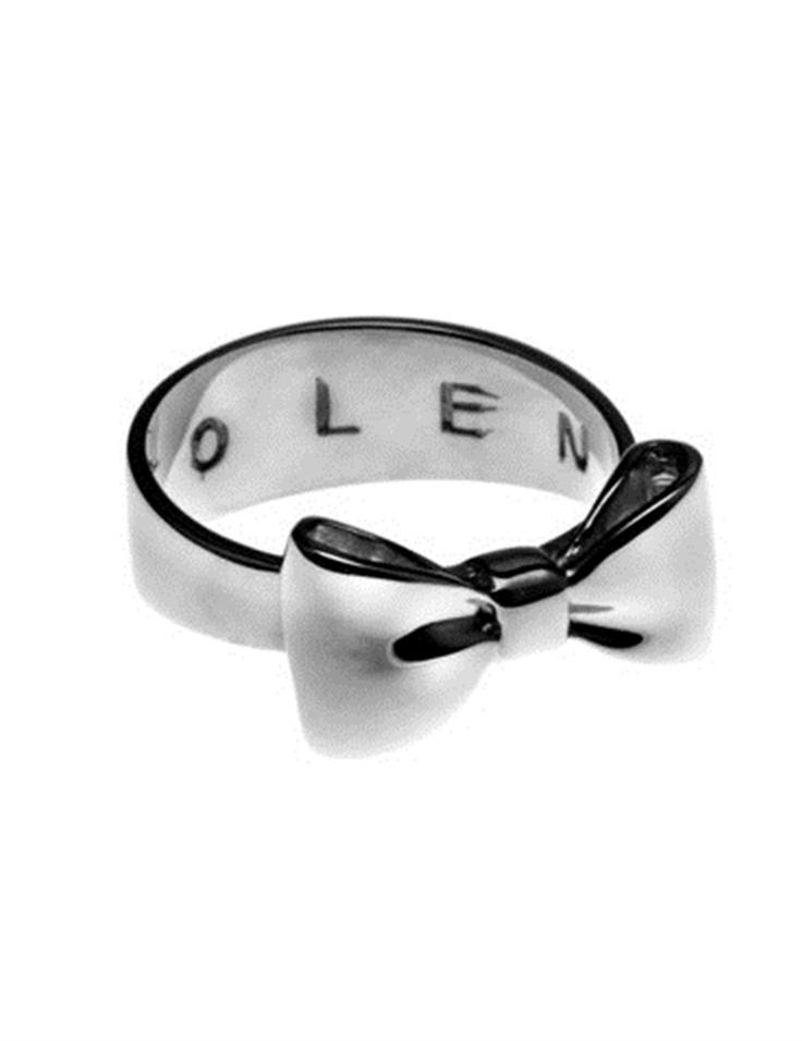 Stolen Girlfriends Club Bow Ring from Walker and Hall Jewller - Walker & Hall