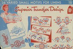 a ton of FREE vintage embroidery patterns