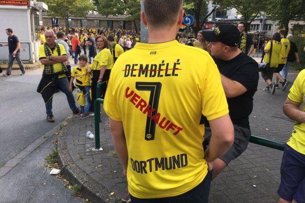 Nach Dembele-Wechsel zu Barca: BVB-Fans mit kreativen Trikot-Ideen