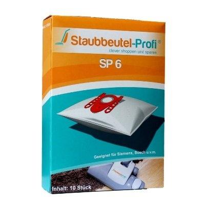 20 Staubsaugerbeutel Siemens VSZ31455, VSZ 31455,(mit Kunstoffkopf SP 6) von Staubeutel-Profi® ,MADE IN GERMANY
