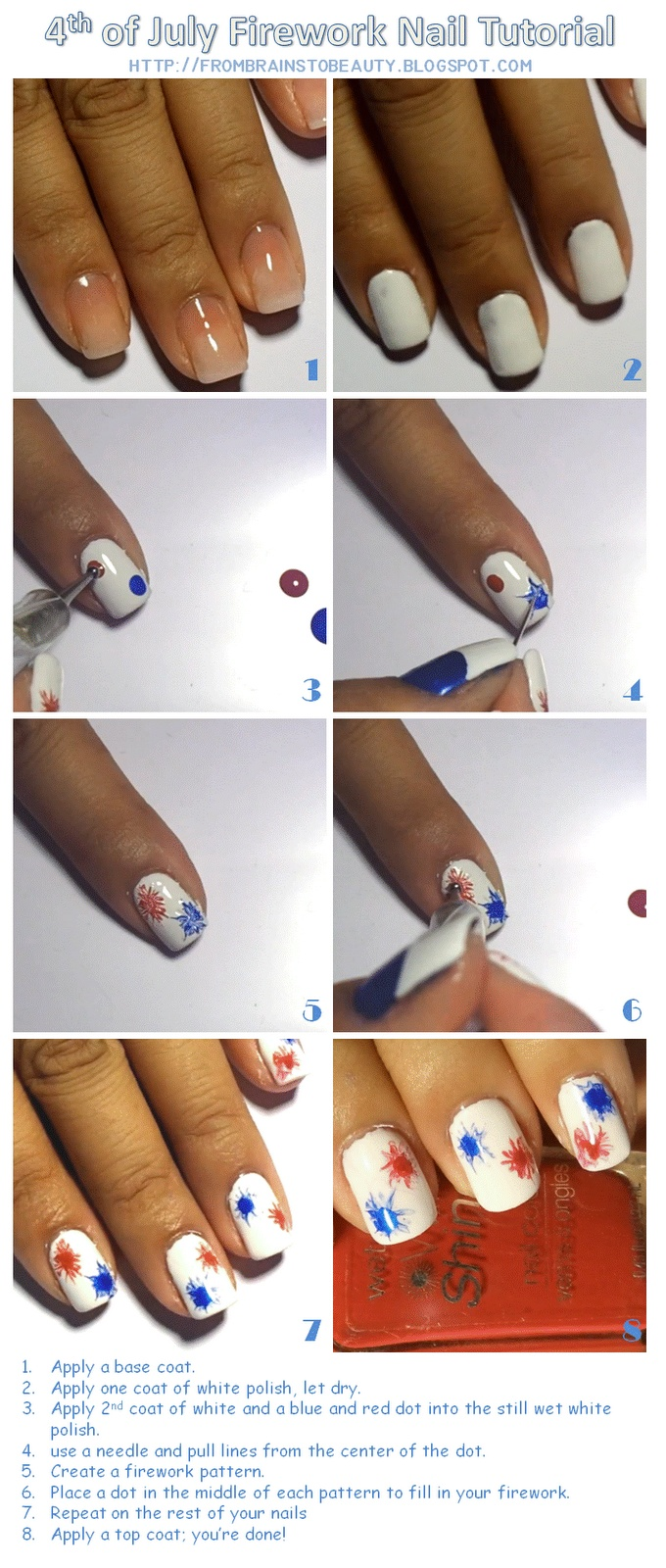 Pinterest How-To 4th of July Fireworks :: Video on Blog