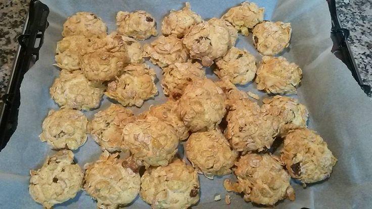 Biscotti corn flakes Bimby 3.5 (70%) 2 votes Se avete in dispensa un pacco di corn flakes da utilizzare perché nessuno più li vuol mangiare per colazione potete realizzare dei croccanti biscotti. Biscotti corn flakes Bimby, foto e ricetta di Ilaria M. Stampa Biscotti corn flakes Bimby Ingredienti 2 uova 100 gr zucchero 100 gr …