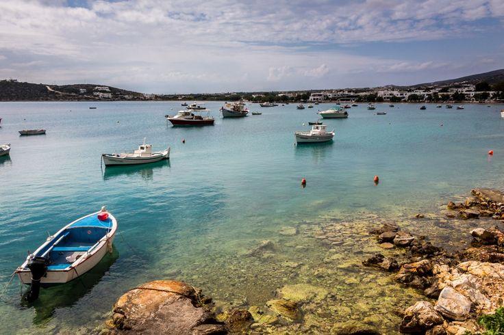 The charming fishing village of Aliki, Paros, Greece