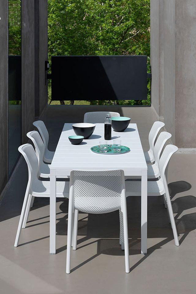 Dieses Tolle Set Von Nardi Mit Ausziehbarem Tisch Verschonert Doch Jeden Garten Wir Lieben Den Look Gartenmobel Gartensessel Gartenstuhle Balkonstuhle
