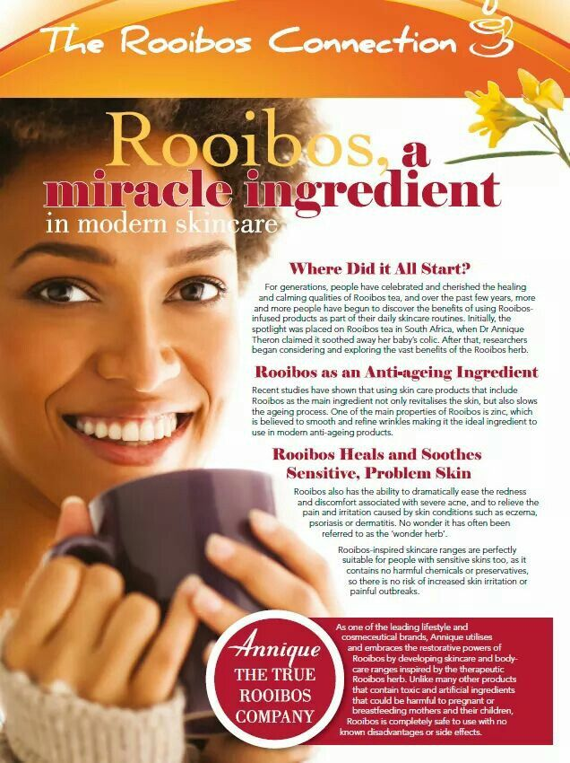 Rooibos, a mircale ingredient in modern skincare. Read this artcle about Rooibos benefits for your skin. #anniquebedfordview  #RooibosBenefits #RooibosTea Content Vanessa to order  - passenav@gmail.com