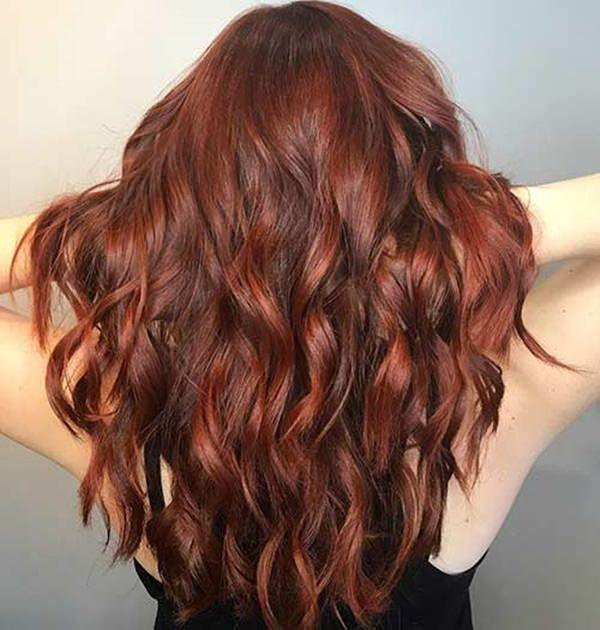89 Trendy And Beautiful Copper Hair Color Ideas Cabelo Cor De