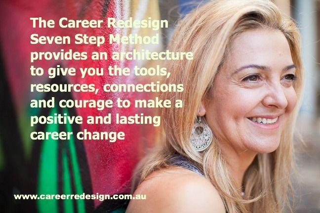 Create Lasting Career Change through the Career Redesign Program services