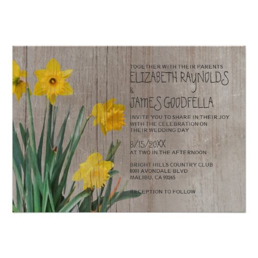 This DealsRustic Daffodil Wedding Invitations Personalized Invitesin each seller & make purchase online for cheap. Choose the best price and best promotion as you thing Secure Checkout you can trust Buy best