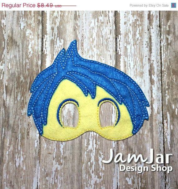 ON SALE JOY Mask Inspired by Inside Out by JamJarDesignShop