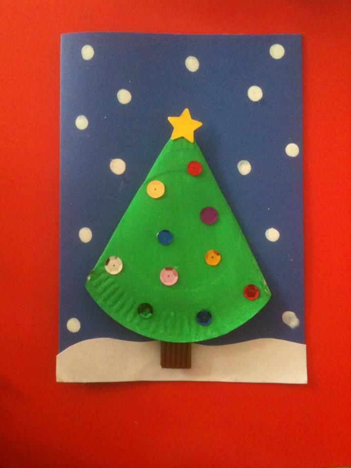 simple xmas tree craft