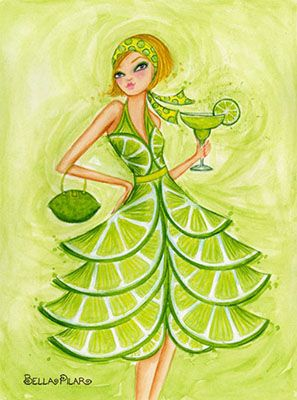 Margarita for Papyrus Cards