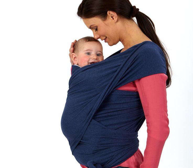 Vicini, sereni e rassicurati. Babywrap è una coccola per due ;-) #Babywear #Babywrap #QuarantaSettimane www.quarantasettimane.it