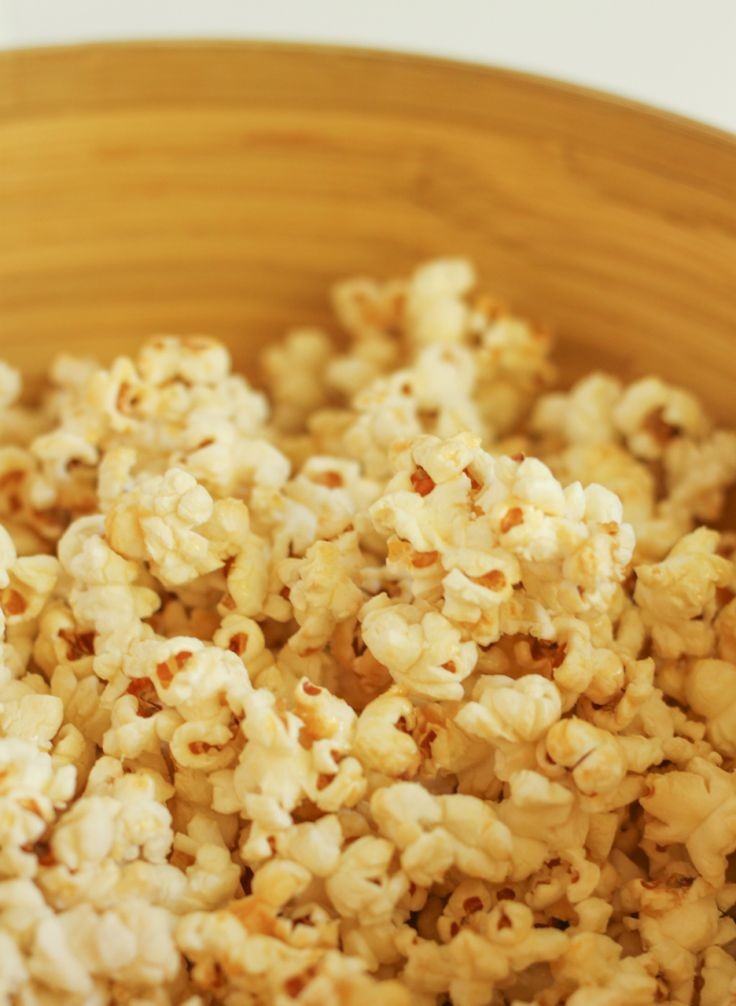 Stovetop kettle corn - so simple, so delicious!