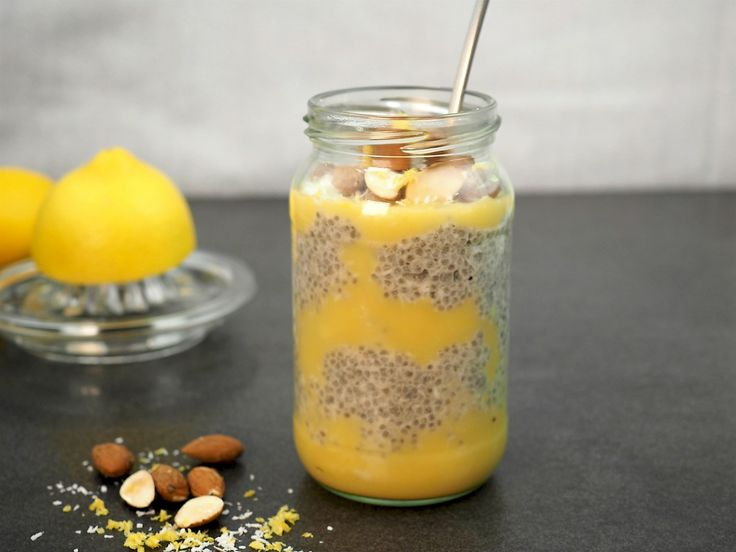 Lemon Butter Chia Pudding