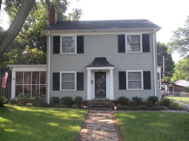 exterior house paint color combinations | Architecture: exterior paint colors, paint, vintage