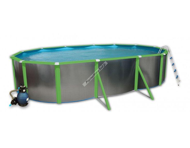 17 meilleures id es propos de piscine hors sol acier sur for Piscine bois demontable