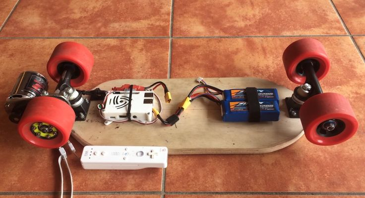 Tim Maier's excellent Raspberry Pi-powered skateboard is controlled by a Wiimote, and is good for all kinds of fun and games.