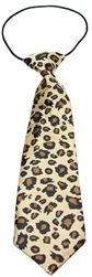 Big Dog Neck Tie -Leopard- Apparel - Shirt Collars & Ties Posh Puppy Boutique