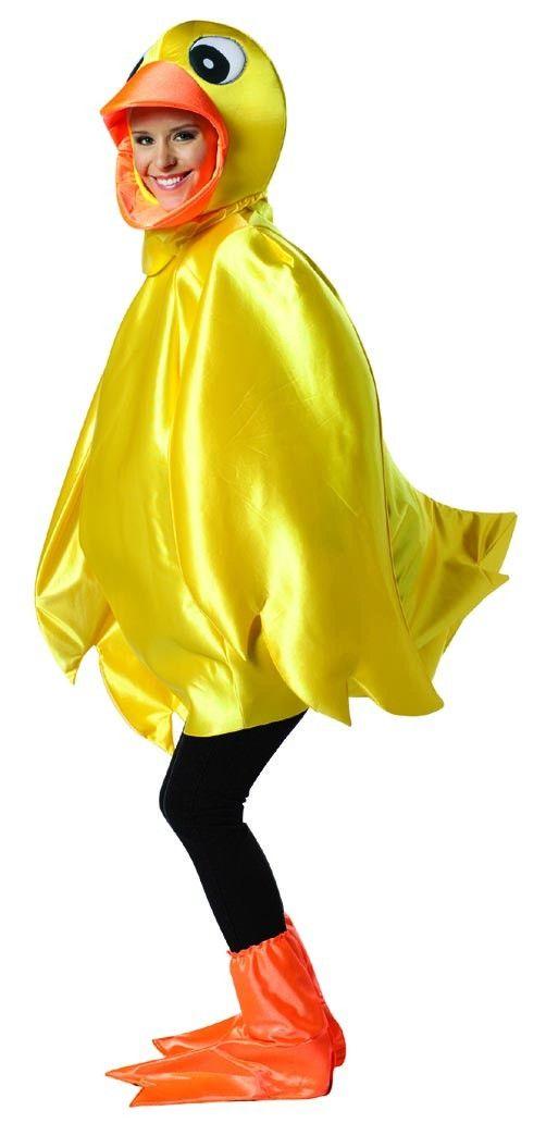 Yellow Ducky Costume Adult
